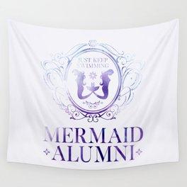 Mermaid Alumni Wall Tapestry