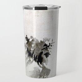 Sesshu Toyo Haboku-Sansui Landscape Travel Mug