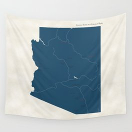 Arizona Parks - v2 Wall Tapestry