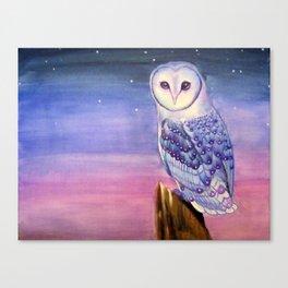 Dawn Owl  Canvas Print