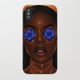 Mama was born in the 70s iPhone Case