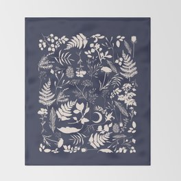 Stay Wild Two Throw Blanket