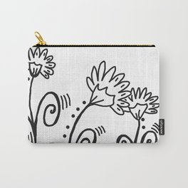 Three Spring Flowers Carry-All Pouch