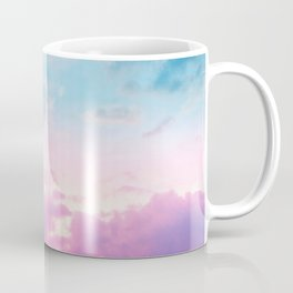 Unicorn Pastel Clouds #3 #decor #art #society6 Coffee Mug