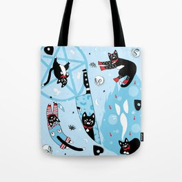 I Love My Demon Cat Tote Bag