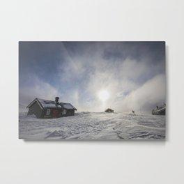 Reinheim winter Metal Print