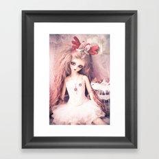 Viridian's Christmas Framed Art Print