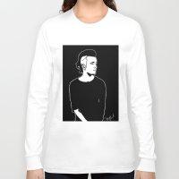 matty healy Long Sleeve T-shirts featuring Matty. by Spazy Art