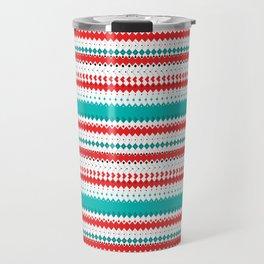Rombo Pattern Travel Mug