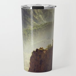 Long Way Down - Caldera de Taburiente - La Palma Travel Mug