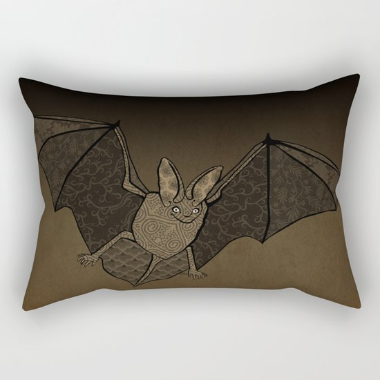 Batty Rectangular Pillow