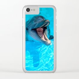 happiness is the way Clear iPhone Case