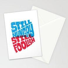 Still Hungry, Still Foolish Stationery Cards