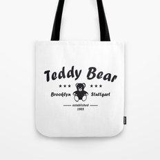 Teddy Bear Brooklyn Stuttgart Tote Bag