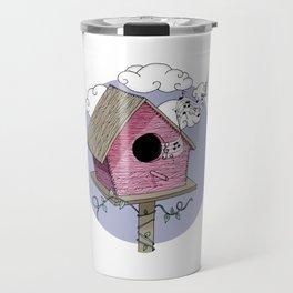 Bird's house: The Singer Travel Mug