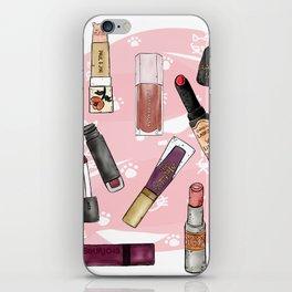 Lipstick Mural iPhone Skin