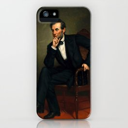 "George Peter Alexander Healy ""Abraham Lincoln"" iPhone Case"