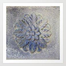 Stone Flower Art Print