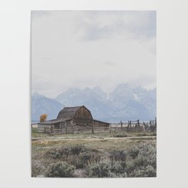 Mormon Row Poster