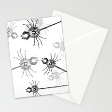 Spiders, spiders, everywhere Stationery Cards