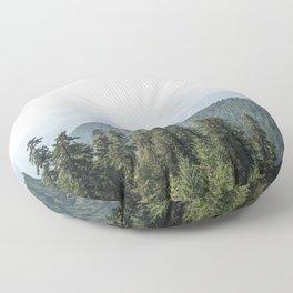 Lookout Ridge - Mountain Nature Photography Floor Pillow
