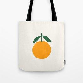 Orange Summer Citrus Tote Bag