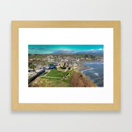 Criccieth Castle Framed Art Print