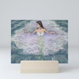 Mermaid Bride Mini Art Print