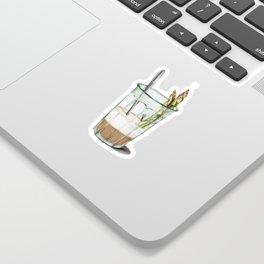 La Cuisine Fusion - Aspargus Latte Sticker