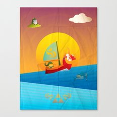 The Legend of Zelda - The Wind Waker Canvas Print