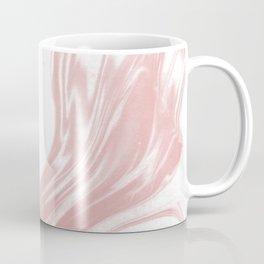 Marble pastel pink 2 Suminagashi watercolor pattern art pisces water wave ocean minimal design Coffee Mug