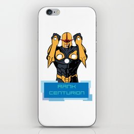 RANK CENTURION iPhone Skin