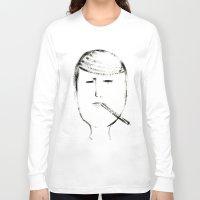 mario Long Sleeve T-shirts featuring MARIO by Michela Buttignol