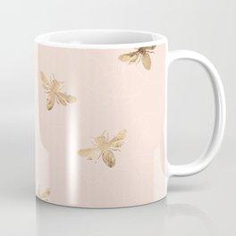 Busy Bees (Pink) Coffee Mug
