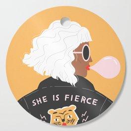 She Is Fierce Cutting Board