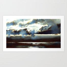 Above the Sea Art Print