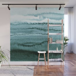WITHIN THE TIDES - OCEAN TEAL Wall Mural
