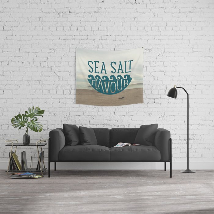 SEA SALT FLAVOUR Wall Tapestry