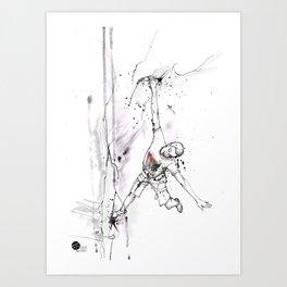 Atelier Man Art Print
