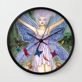 Fairy's Magik Circle Wall Clock