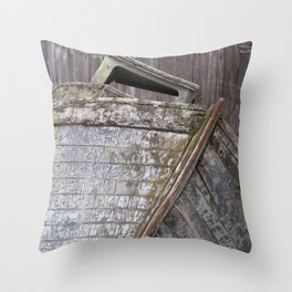 Washed-up Throw Pillow