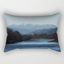 Rimutaka glider Rectangular Pillow