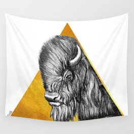 Totem - Bison Wall Tapestry