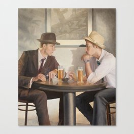 Cocktail Hour Counsellor Canvas Print