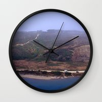 portugal Wall Clocks featuring Odeceixe - Portugal by Ana Sofia Santos