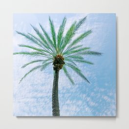 California Colors - PalmTree - v17 Metal Print