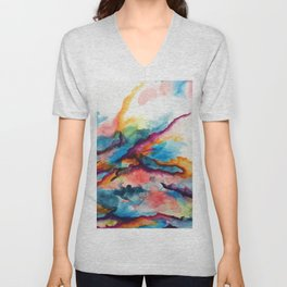 Creativity Breaching the Void Unisex V-Neck