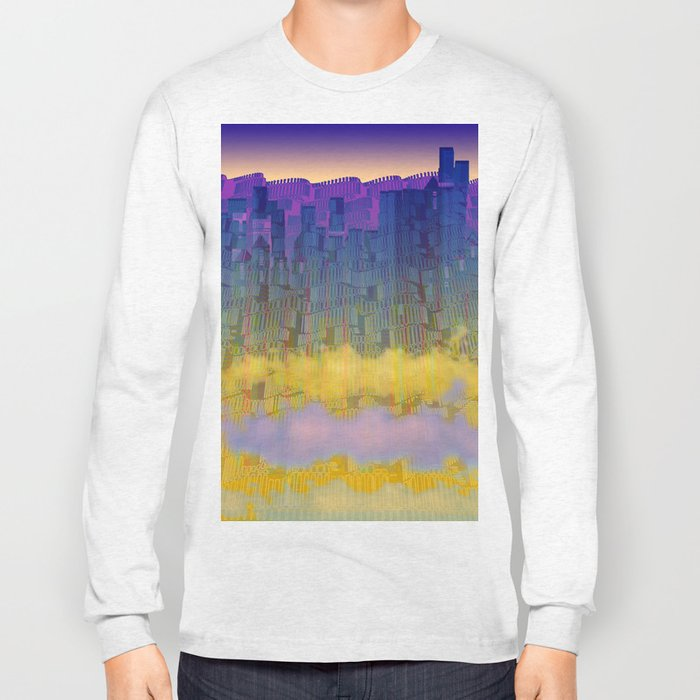 Urban 05-07-16 / WAVES of LIGHT Long Sleeve T-shirt