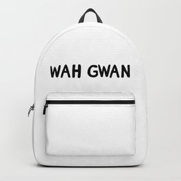 wah gwan Backpack