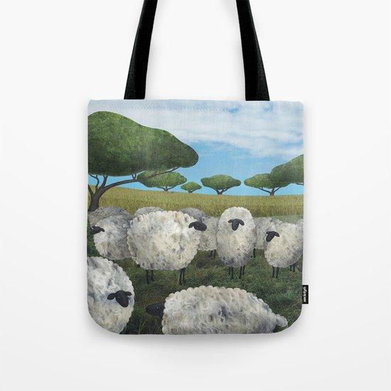 greener pasture Tote Bag
